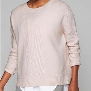 Athleta Habitat Sweater XS Lilac